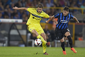 Semb Berge (Br�ndby IF), Nicolas Castillo (Club Brugge KV)