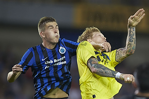 Simon Makienok Christoffersen (Br�ndby IF), Bjorn Engels (Club Brugge KV)
