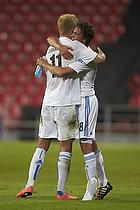 Andreas Cornelius (FC K�benhavn), Thomas Delaney (FC K�benhavn)