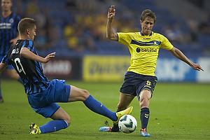 Bjorn Engels (Club Brugge KV), Alexander Szymanowski (Br�ndby IF)