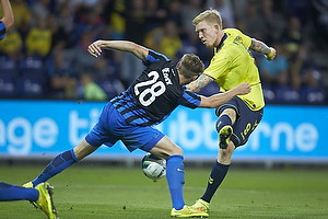 Simon Makienok Christoffersen (Br�ndby IF), Laurens De Bock (Club Brugge KV)