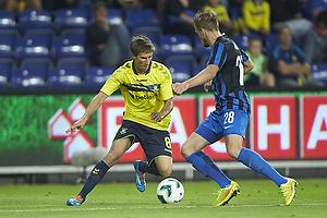 Alexander Szymanowski (Br�ndby IF), Laurens De Bock (Club Brugge KV)