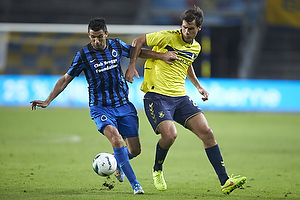 Dario Dumic (Br�ndby IF), Fernando Menegazzo (Club Brugge KV)