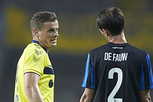 Mikkel Thygesen (Br�ndby IF), Davy De Fauw (Club Brugge KV)