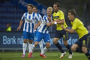 Johan Elmander (Br�ndby IF), Thomas Mikkelsen (Ob)