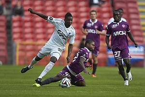Danny Amankwaa (FC K�benhavn), Izunna Arnest Uzochukwu (FC Midtjylland)