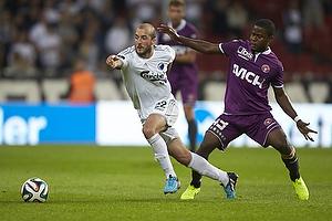 Steve De Ridder (FC K�benhavn), Izunna Arnest Uzochukwu (FC Midtjylland)
