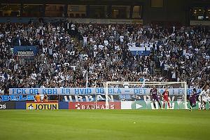FCK-fans med banner