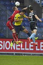 Lukas Hradecky (Br�ndby IF), Dario Dumic (Br�ndby IF), Hallgrimur Jonasson (S�nderjyskE)