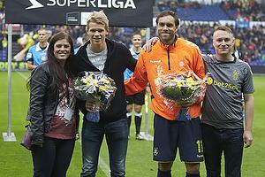 Sarah Agerklint, n�stformand (Br�ndby Support), Andreas Hansen (Br�ndby IF), Johan Elmander (Br�ndby IF), Lasse Hjorth, formand (Br�ndby Support)