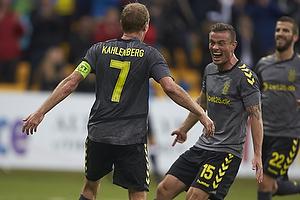 Thomas Kahlenberg, m�lscorer (Br�ndby IF), Mikkel Thygesen (Br�ndby IF)