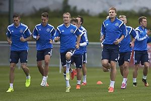 Daniel Agger (Danmark), Thomas Kahlenberg (Danmark), Nicklas Bendtner (Danmark)
