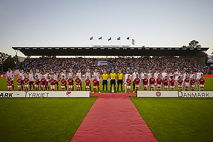 Danmark og Tyrkiet p� Odense Stadion