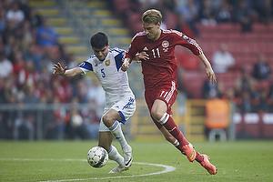 Nicklas Bendtner (Danmark), Robert Arzumanyan (Armenien)