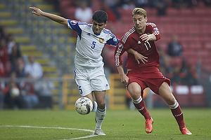 Robert Arzumanyan (Armenien), Nicklas Bendtner (Danmark)