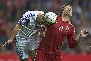 Hrayr Mkoyan (Armenien), Nicklas Bendtner (Danmark)