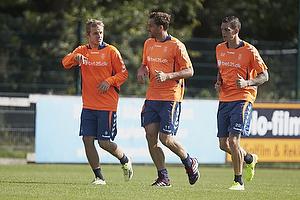 Teemu Pukki (Br�ndby IF), Johan Elmander (Br�ndby IF), Daniel Agger (Br�ndby IF)