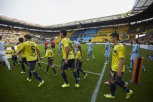 Martin �rnskov (Br�ndby IF), Dario Dumic (Br�ndby IF), Elba Rashani (Br�ndby IF)