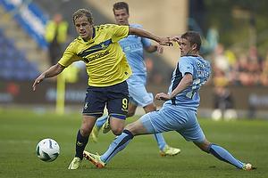 Teemu Pukki (Br�ndby IF), Mads Fenger (Randers FC)