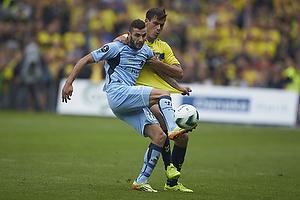 Dario Dumic (Br�ndby IF), Mikael Ishak (Randers FC)