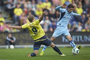 Teemu Pukki (Br�ndby IF), Elmar Bjarnason (Randers FC)