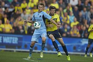 Viktor Lundberg (Randers FC), Martin �rnskov (Br�ndby IF)