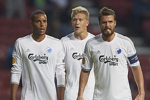 Mathias Zanka J�rgensen (FC K�benhavn), Andreas Cornelius (FC K�benhavn), Per Nilsson (FC K�benhavn)