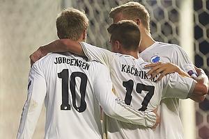 Nicolai J�rgensen, m�lscorer (FC K�benhavn), Alex Kacaniklic (FC K�benhavn), Andreas Cornelius (FC K�benhavn)