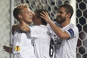 Nicolai J�rgensen, m�lscorer (FC K�benhavn), Claudemir De Souza (FC K�benhavn), Per Nilsson (FC K�benhavn)