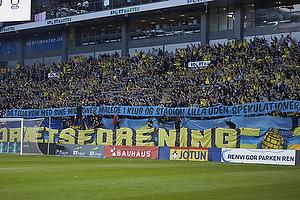 Br�ndbyfan med banner