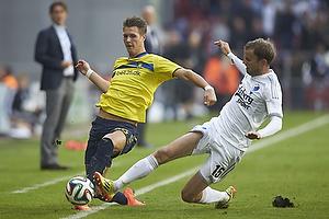 Holmbert Fridjonsson (Br�ndby IF), Mikael Antonsson (FC K�benhavn)