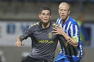Daniel Agger (Br�ndby IF), Hans Henrik Andreasen (Esbjerg fB)