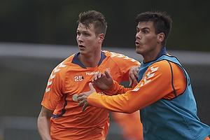 Holmbert Fridjonsson (Br�ndby IF), Dario Dumic (Br�ndby IF)