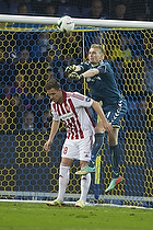 Lukas Hradecky (Br�ndby IF), Anders K. Jacobsen (Aab)