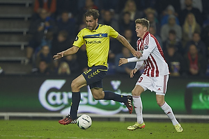 Johan Elmander (Br�ndby IF), Nicolaj Thomsen (Aab)