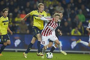 Thomas Kahlenberg (Br�ndby IF), Nicolaj Thomsen (Aab)