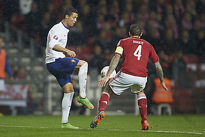 Cristiano Ronaldo, anf�rer (Portugal), Daniel Agger, anf�rer (Danmark)