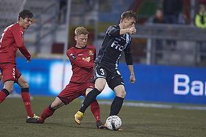 Marvin Pourie (S�nderjyskE), Anders Christiansen (FC Nordsj�lland)