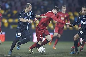 Daniel Jensen (S�nderjyskE), Ivan Runje (FC Nordsj�lland)
