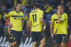 Daniel Agger (Br�ndby IF), Johan Elmander (Br�ndby IF), Thomas Kahlenberg, anf�rer (Br�ndby IF)