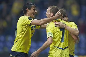 Dario Dumic (Br�ndby IF), Thomas Kahlenberg, anf�rer, m�lscorer (Br�ndby IF)