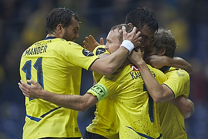 Johan Elmander (Br�ndby IF), Thomas Kahlenberg, anf�rer, m�lscorer (Br�ndby IF), Dario Dumic (Br�ndby IF)