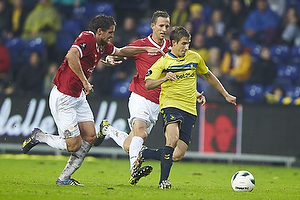 Jan Kristiansen (FC Vestsj�lland), Alexander Szymanowski (Br�ndby IF)