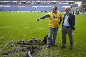 Per Rud, sportschef (Br�ndby IF) og vand p� banen