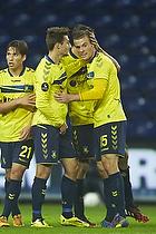Andrew Hjulsager (Br�ndby IF), Elba Rashani (Br�ndby IF), Mikkel Thygesen (Br�ndby IF)