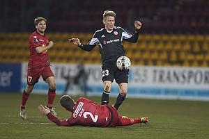 Ivan Runje (FC Nordsj�lland), Nicolaj Thomsen (Aab)