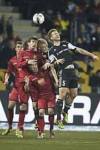 Ivan Runje (FC Nordsj�lland), Uffe bech (FC Nordsj�lland), Kenneth Emil Petersen (Aab)