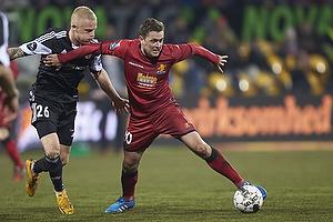 Rasmus Thelander (Aab), Kasper Lorentzen (FC Nordsj�lland)
