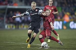 Uffe bech (FC Nordsj�lland), Rasmus Thelander (Aab)