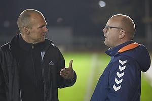 Ole Bjur, sportschef (Fremad Amager), Per Rud, sportschef (Br�ndby IF)